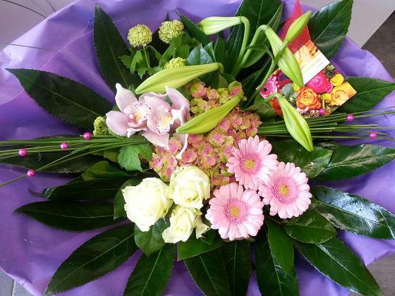 Pink Flower - €20,00