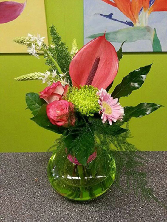 Pink vase - €16,95